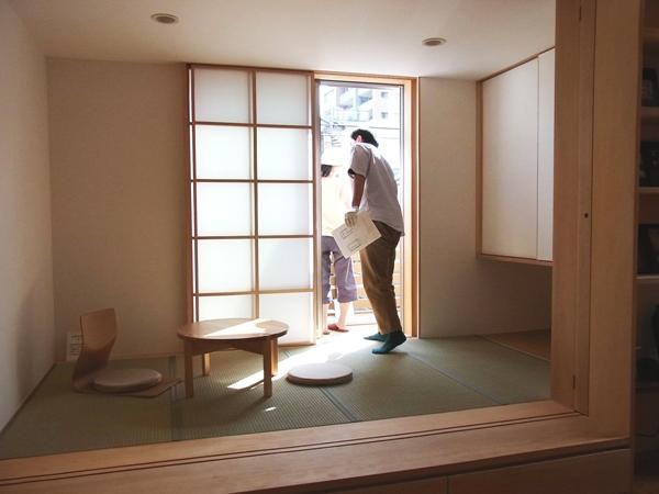 「南葛西の家」完成見学会終了_c0019551_1947338.jpg