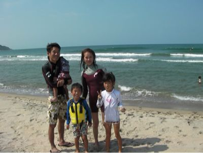 サーフィンスクールの良い波でした。_f0009169_9155287.jpg