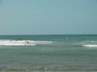 サーフィンスクールの良い波でした。_f0009169_9155363.jpg