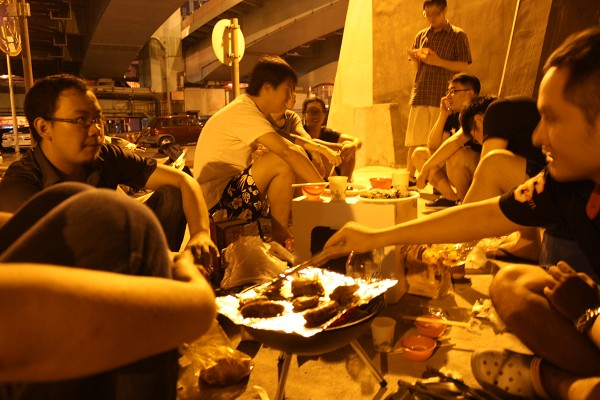 台北 : 中秋節のBBQに、まぜてもらいに行ってきた_e0152073_005032.jpg