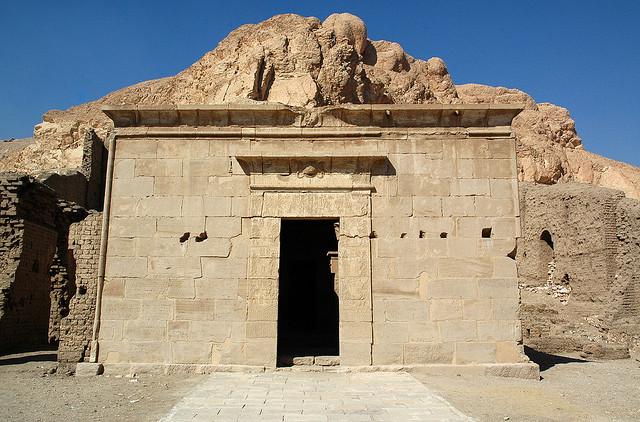 哈托爾瑪特神廟 (Shrine of Hathor Maat)_e0040579_3335994.jpg