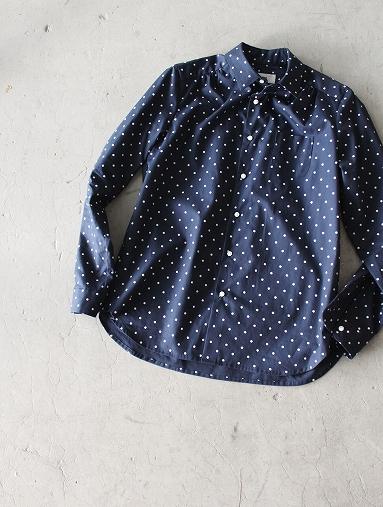 PULETTE プレットのポルカドットシャツ_b0139281_1957341.jpg
