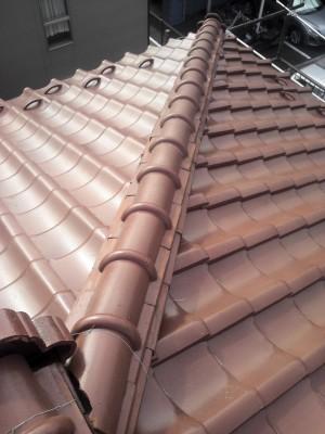 板橋区成増で瓦屋根の雨漏り修理_c0223192_18261615.jpg