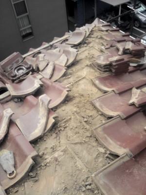 板橋区成増で瓦屋根の雨漏り修理_c0223192_1827780.jpg