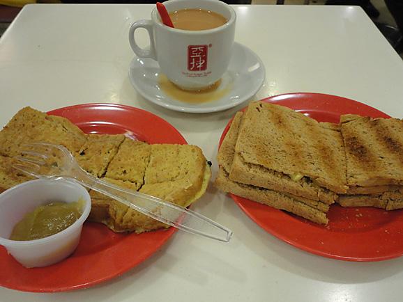 シンガポール16 Ya kun kaya toast_e0230011_935521.jpg