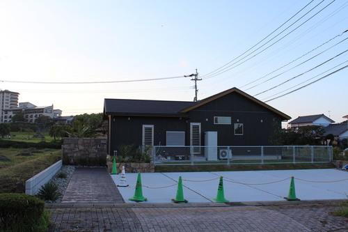 宮崎市S様邸新築外溝工事ほぼ完成!_b0236217_21131060.jpg