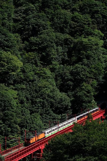 黒部トロッコ列車にはまりそう_f0050534_12301246.jpg