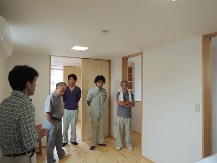 「南葛西の家」社内検討会_c0019551_13402928.jpg