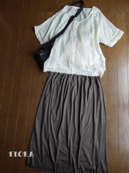 ♪ニットのロングスカート_c0247253_22152096.jpg