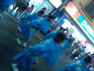 代々木八幡神社と初台阿波踊り_f0008555_19115755.jpg