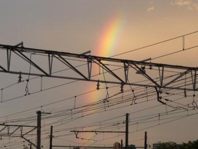 きれいな虹が出ました♪♪_f0194657_19253821.jpg