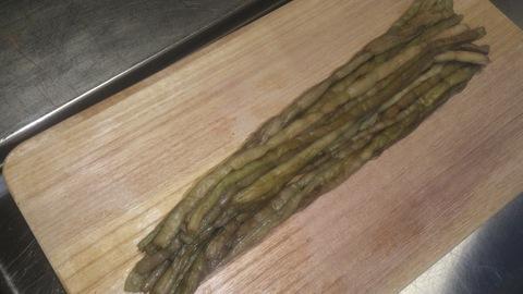 米山ガーデン料理教室「笹の押し寿司」。_d0182179_1231542.jpg