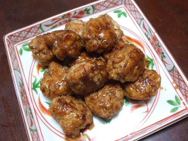 豆腐入り肉団子_f0019498_153126.jpg