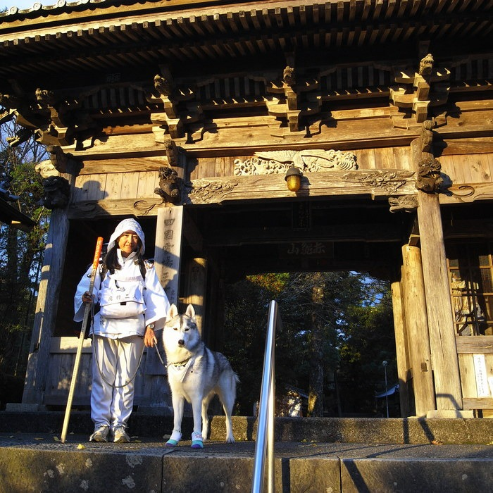 Memory of the second pilgrimage with husky HANA_c0049299_19551715.jpg