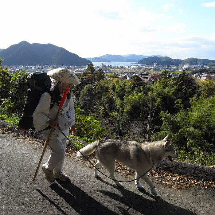 Memory of the second pilgrimage with husky HANA_c0049299_20292068.jpg