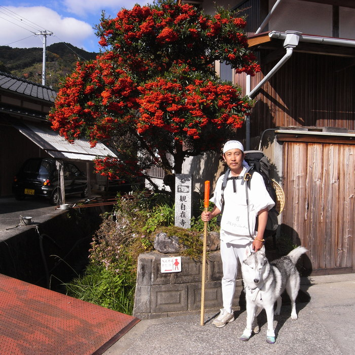 Memory of the second pilgrimage with husky HANA_c0049299_20425824.jpg