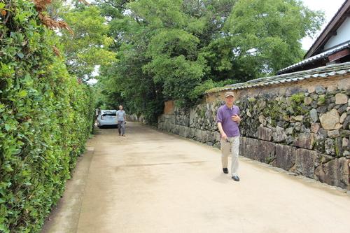 長州研修:萩の小路を歩く_e0054299_16214825.jpg