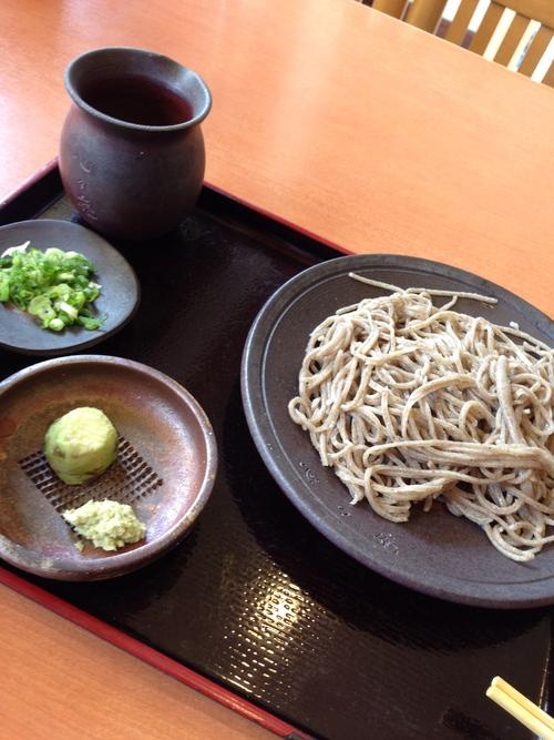 心々庵の粗挽き蕎麦_c0185356_13332974.jpg