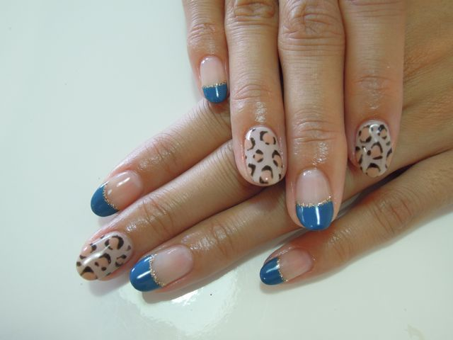 Bule Leopard Nail_a0239065_10195411.jpg