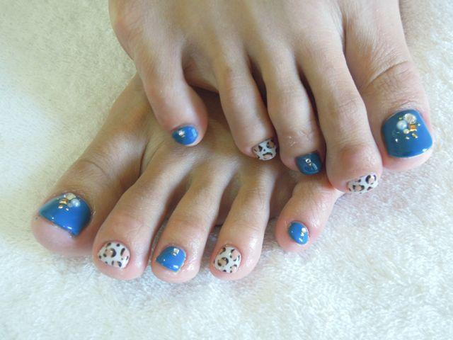Bule Leopard Foot Nail_a0239065_10222457.jpg