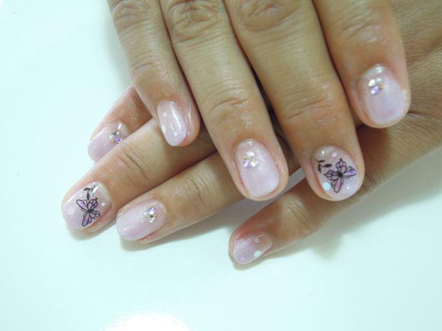 Pink Purple Nail_a0239065_10284879.jpg