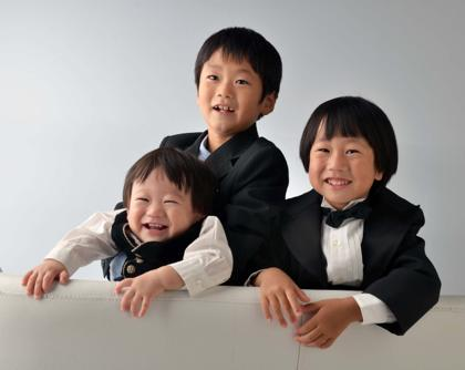 S君は三人兄弟....Iさん一家は賑やかに七五三の前撮りで...._b0194185_22345289.jpg
