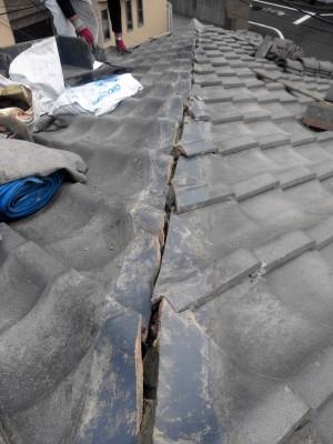 板橋区の高島平で雨漏り修理_c0223192_18375232.jpg