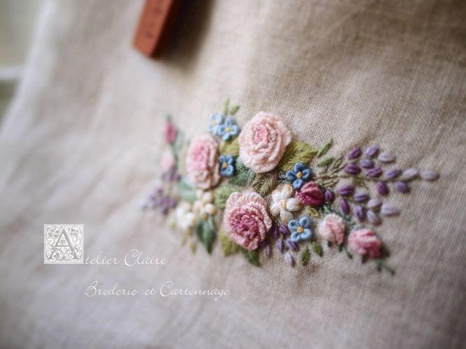 *Poetry of Flowers...Ⅵ*~花々の詩のミニバッグ~_a0157409_82155.jpg