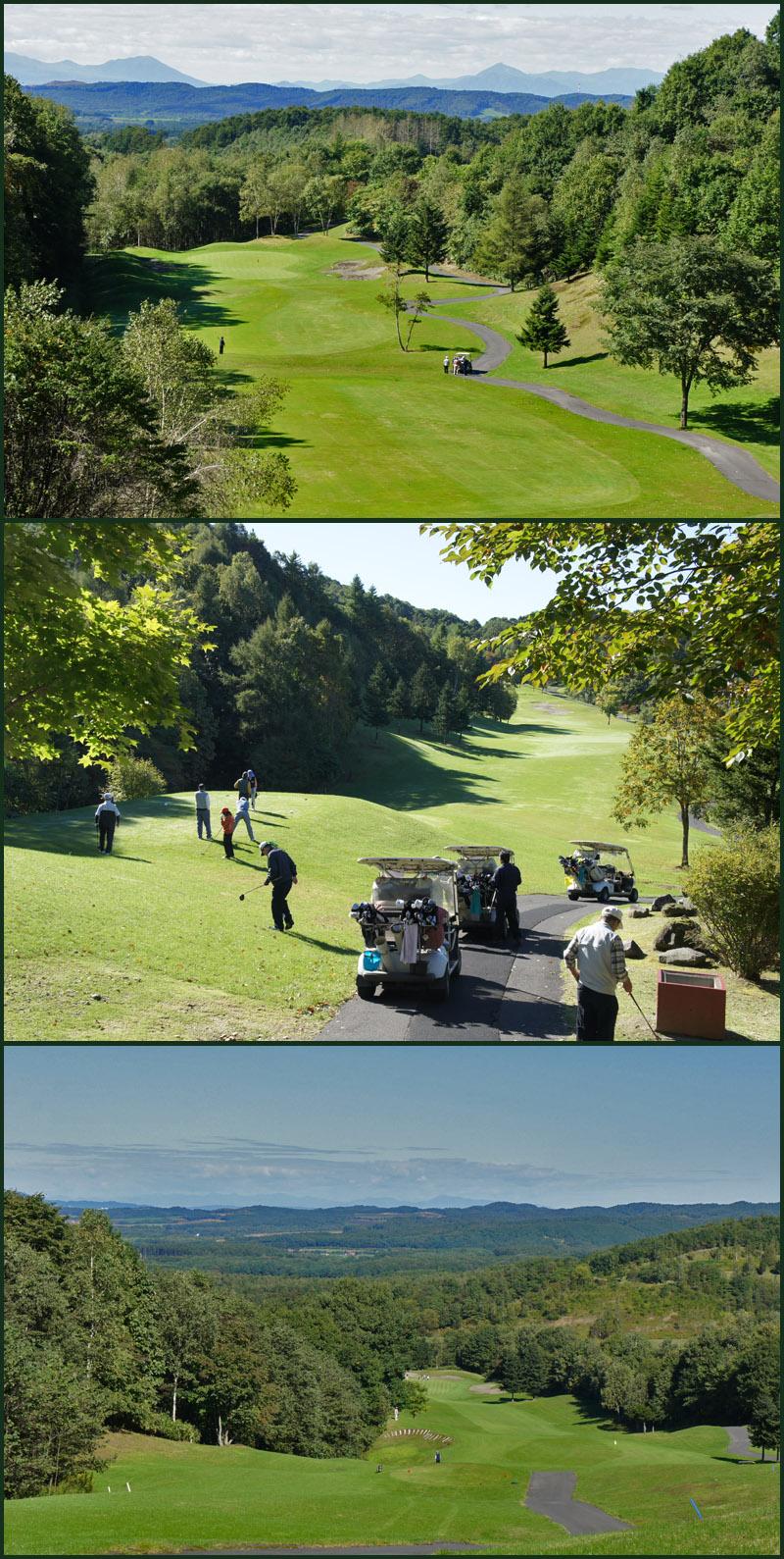 青空の元でゴルフ_b0019313_1752250.jpg