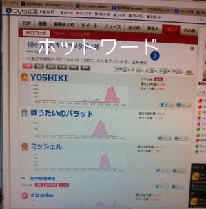 YOSHIKI、16年ぶり『Mステ』で弾き語り びしょ濡れ・・・_c0036138_23505146.jpg
