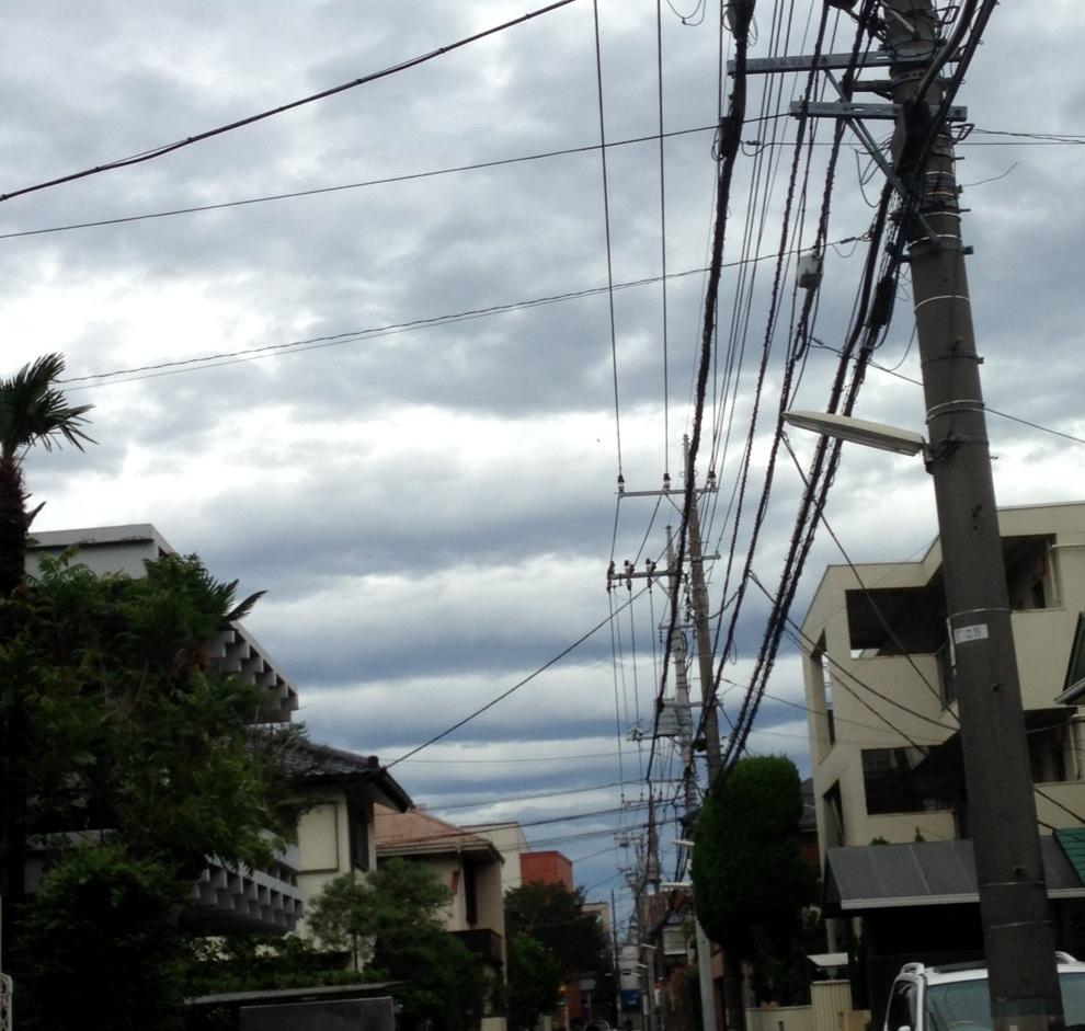 いろんな雲〜ギョッとした雲編〜_b0298740_23171568.jpg