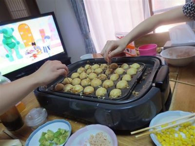たこ焼きパーティー_a0111845_11515079.jpg