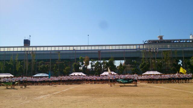 芦屋高校 体育祭_f0205367_20232571.jpg
