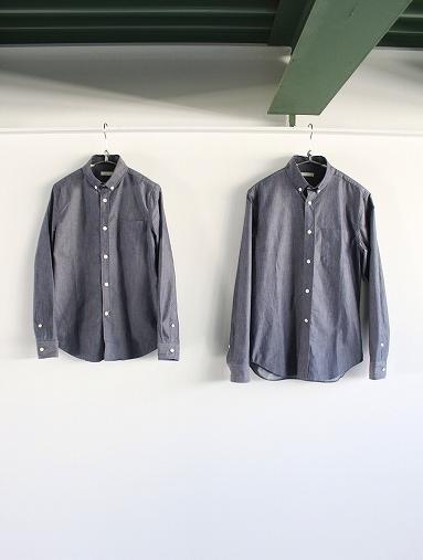 niuhans  Pure Indigo Shirt_b0139281_14314734.jpg
