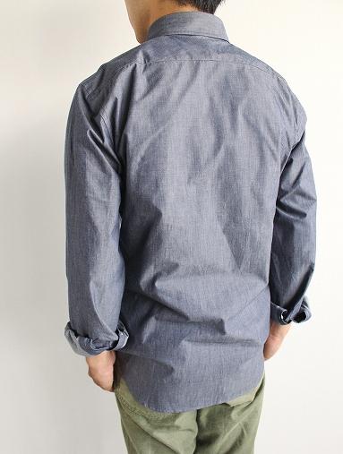 niuhans  Pure Indigo Shirt_b0139281_1432338.jpg