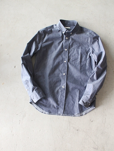 niuhans  Pure Indigo Shirt_b0139281_1432682.jpg