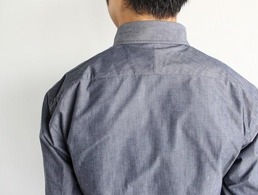 niuhans  Pure Indigo Shirt_b0139281_14333211.jpg