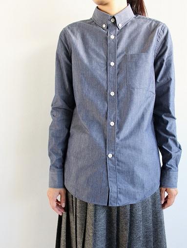 niuhans  Pure Indigo Shirt_b0139281_1433451.jpg