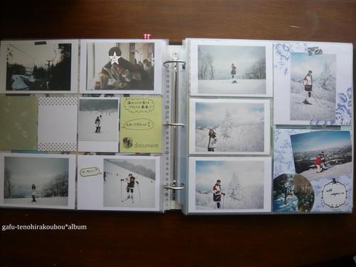 アルバム作り[11]スキー_d0285885_12195499.jpg