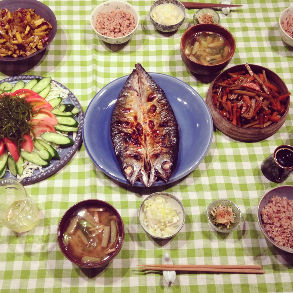 夕ご飯 いただきました。_b0123314_047475.jpg