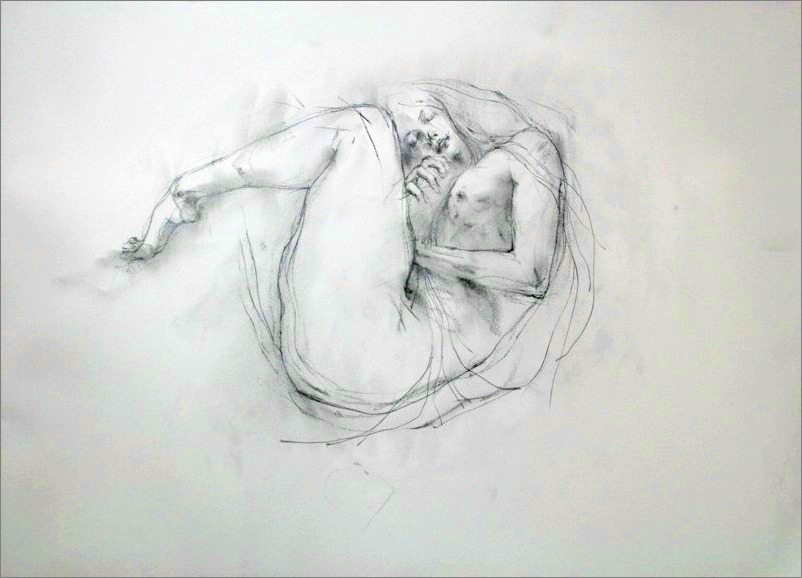 《 study (Gustav Klimt) Ⅰ 》 _f0159856_914013.jpg