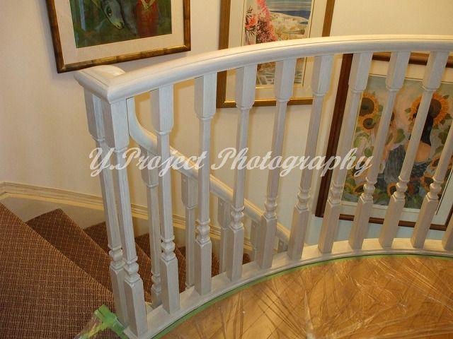 階段手摺の塗り替え_c0108065_1981027.jpg