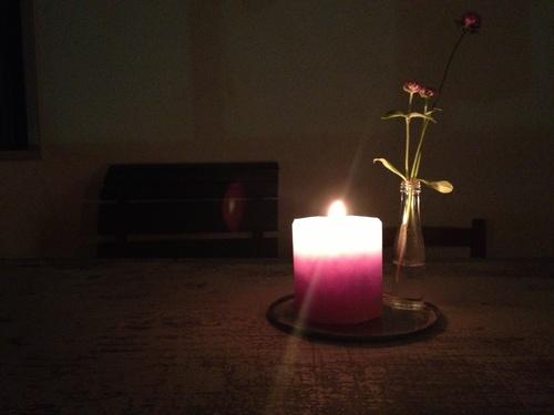 MOUNTAIN HIGH CANDLE の、「 育てる 灯り 」 _b0284270_19162279.jpg