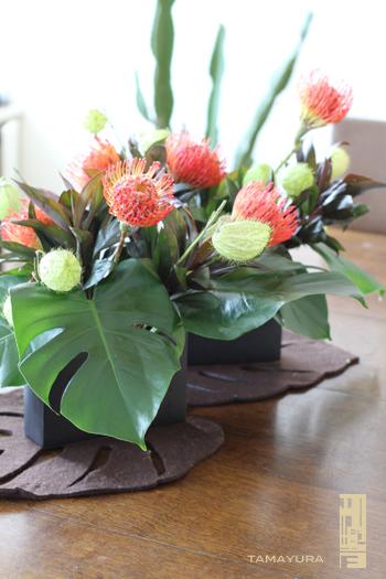 テーブルのお花 <2>_c0187754_10525114.jpg