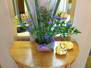 autumn flowerその1     新しい花器に♪_a0165160_745357.jpg