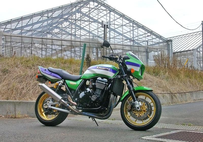 Sら田サン号 ZRX1100のアンヨ&キャブセット変更♪_c0086965_23524753.jpg
