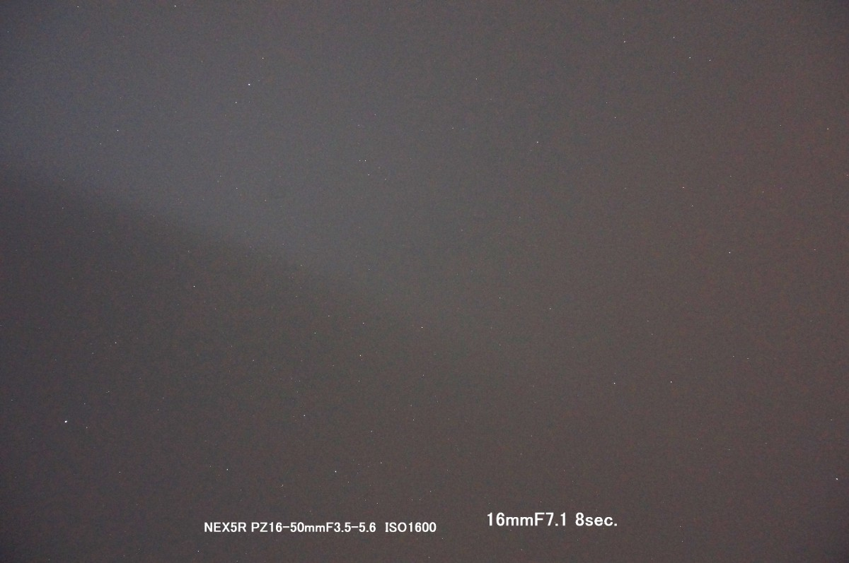 SONY PZ16-50mmF3.5-5.6で夜空を撮ってみた_a0095470_23415540.jpg