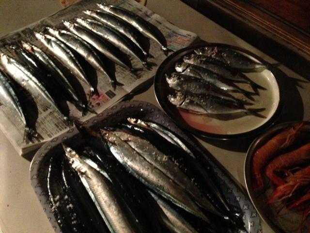 9月29日 秋刀魚BBQ_d0171384_13244751.jpg