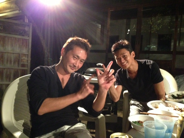 9月29日 秋刀魚BBQ_d0171384_13244797.jpg