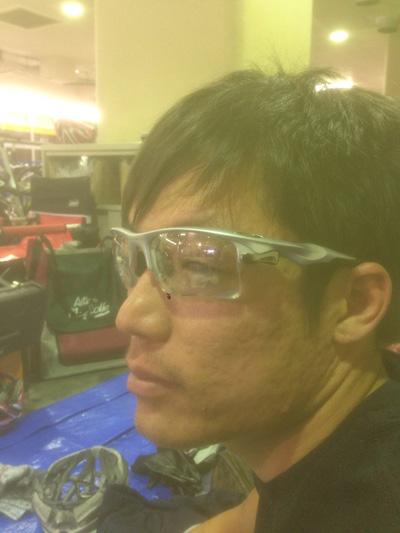 金栄堂サポート:日本大学自転車競技部・浜地一徳選手アイウェアインプレッション!_c0003493_11361788.jpg